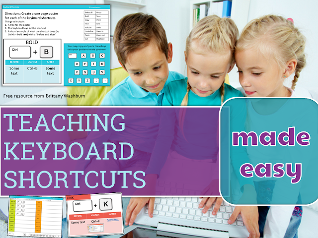 Teaching Keyboard Shortcuts Made Easy