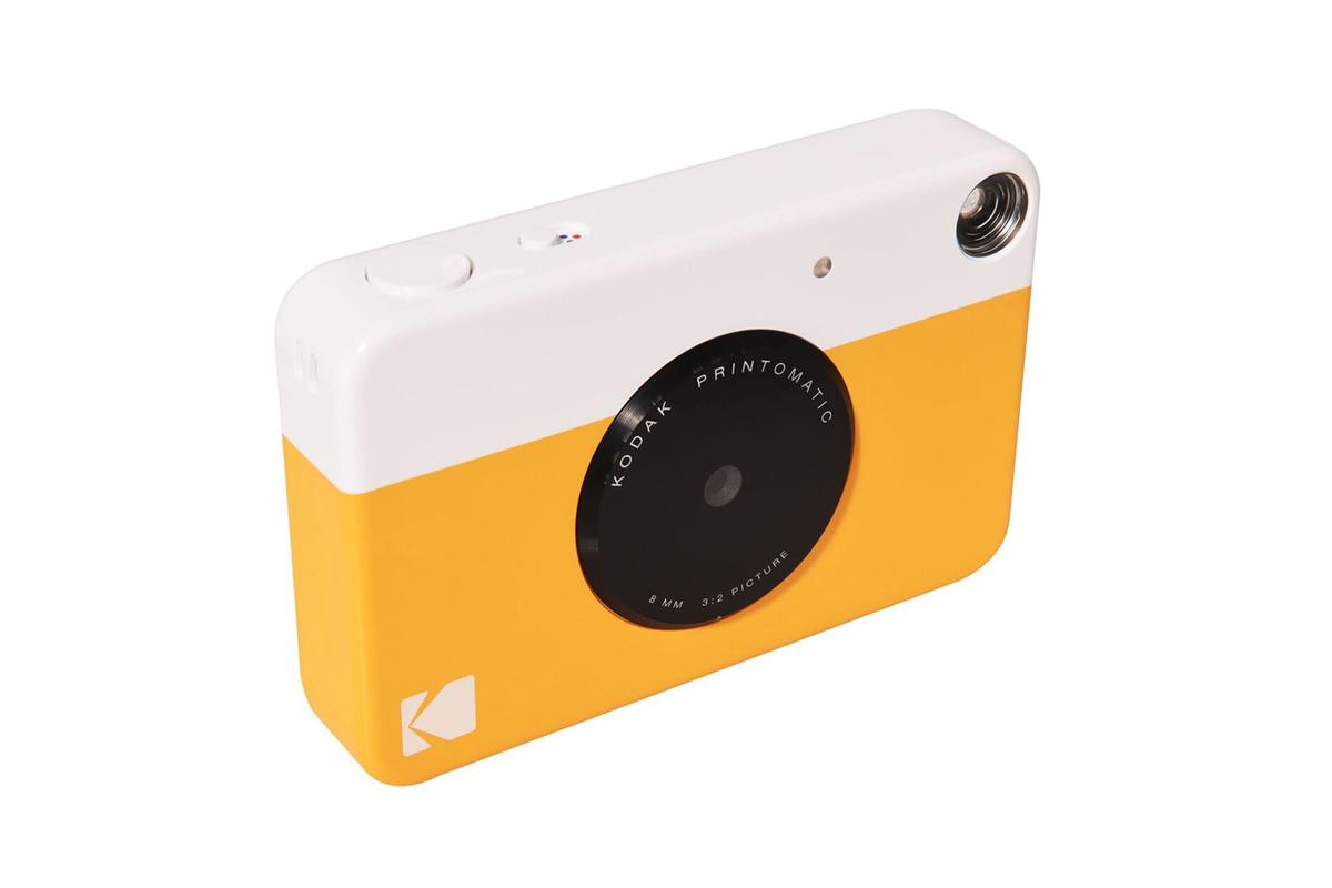 Kodak Printomatic желтого цвета