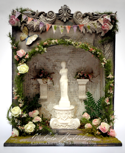 Venus' Grotto - Nichola Battilana for alphastamps.com