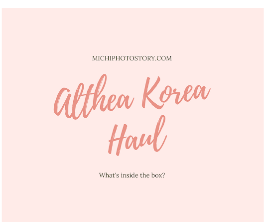 Althea Korea Haul