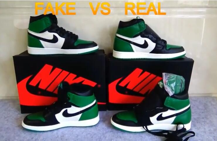49020517da3 Jordan 1 Pine Green Legit/Fake vs Real comparison YouTube link:  https://www.youtube.com/watch?v=2LxJChxQBR8About Trust? Why you choose to  trust Mona? ...