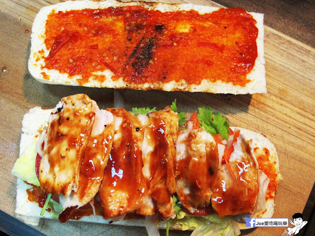 IMG 4926 - 【熱血採訪】NickJu 尼克啾 碳烤法式三明治 位於中國醫附近的尼克啾 NickJu 主打法式三明治,把餐廳所用的食材搬到街頭,讓客人用平價價格吃到高檔美味