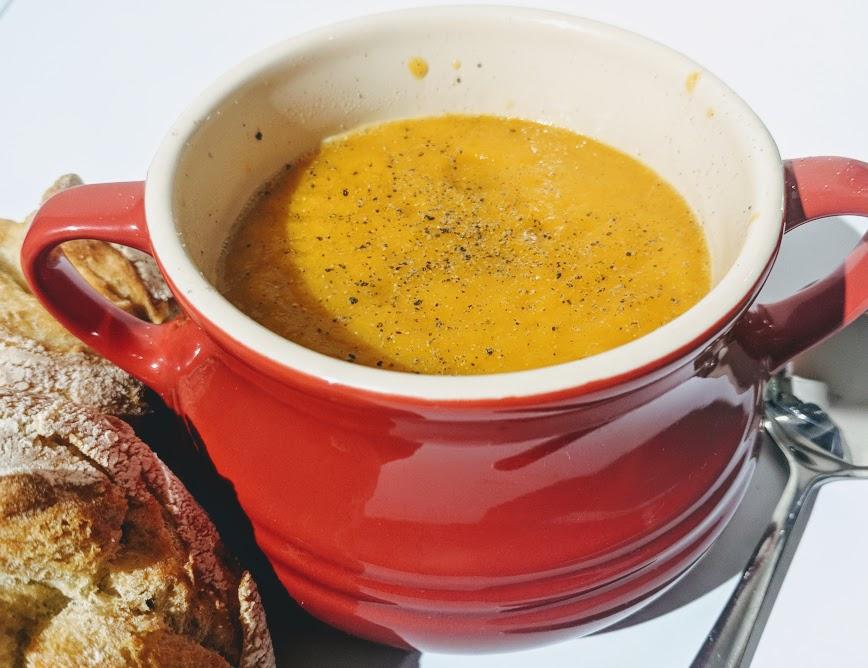 Beko Soup Maker   A Review - leftover vegetable soup