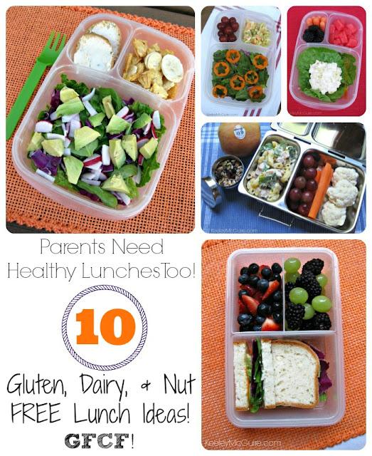 Gluten Free & Allergy Friendly: Lunch Made Easy: #GFCF