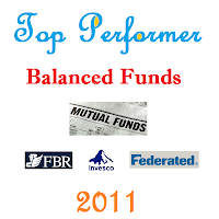 Top Performer Balanced Mutual Funds 2011