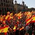 Masiva marcha contra la independencia en #Cataluña