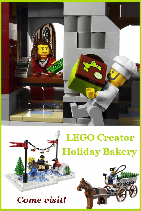 Lego Creator Holiday Bakery - a collectors set