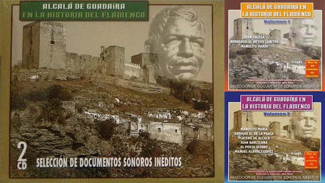 """JUAN TALEGA """"ALCALÁ DE GUADAIRA EN LA HISTORIA DEL FLAMENCO"""" MARITA EDICIONES 2006 DOBLE CD"""