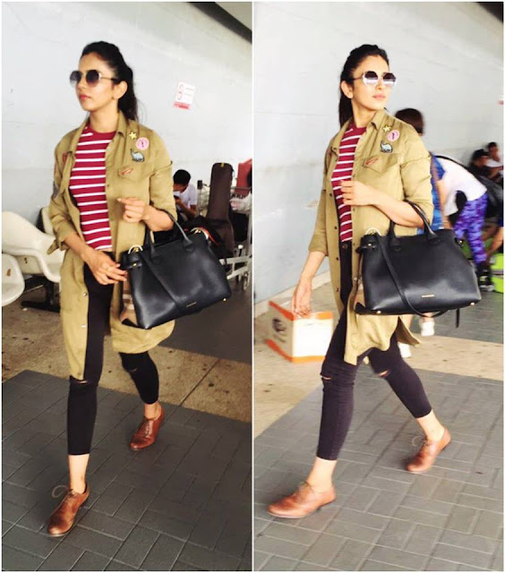 Rakul preet singh in Airport Photos