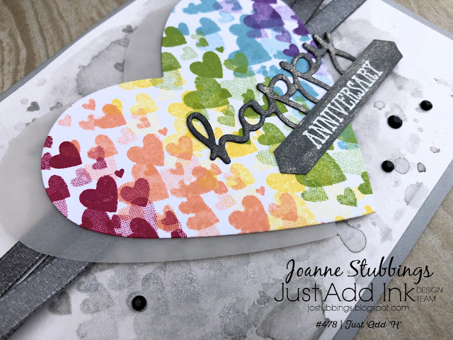 Jo's Stamping Spot - Just Add Ink Challenge #478 using Well Said Bundle and Forever Lovely stamp set by Stampin' Up!
