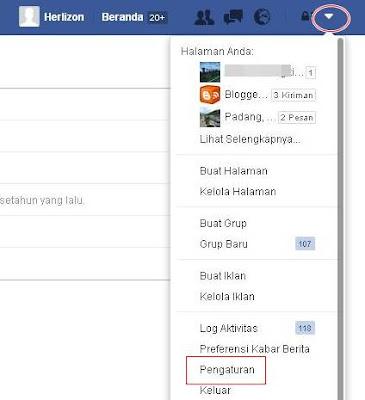 Cara Ganti Kata Sandi/Password Akun Facebook
