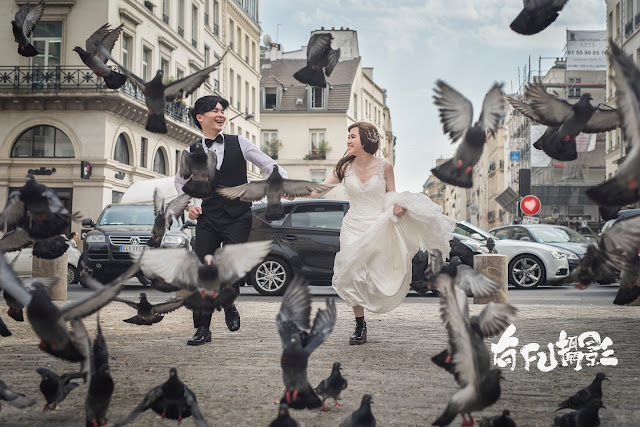 巴黎婚紗 Paris Prewedding Photography
