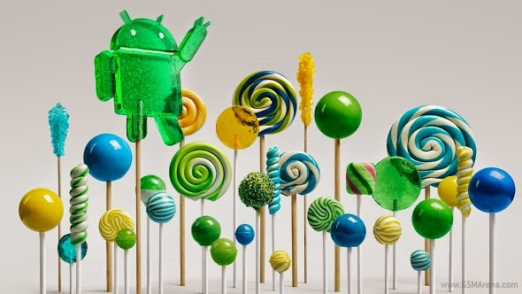 Android Version 5.0 Lollipop