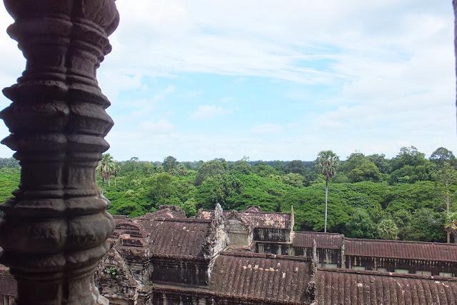 cambodia-view アンコールワットからの眺め