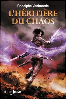 Couverture du livre L'héritière du chaos