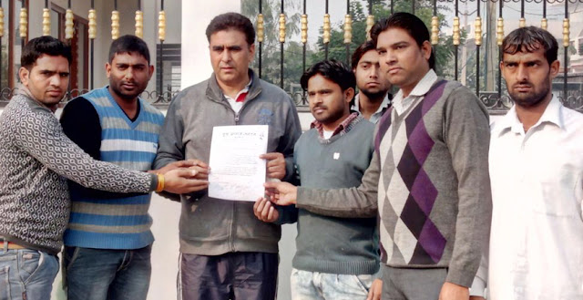 Yuva Aagaj entrusted the Congress MLA to Lalit Nagar, join the YMCA college