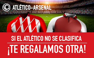 sportium promocion europa league Atlético vs Arsenal 3 mayo