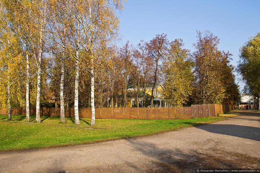 Усадьба Пушкиных в Большом Болдине