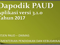 Panduan Aplikasi Dapodik PAUD Versi 3.1.0 Tahun 2017/2018