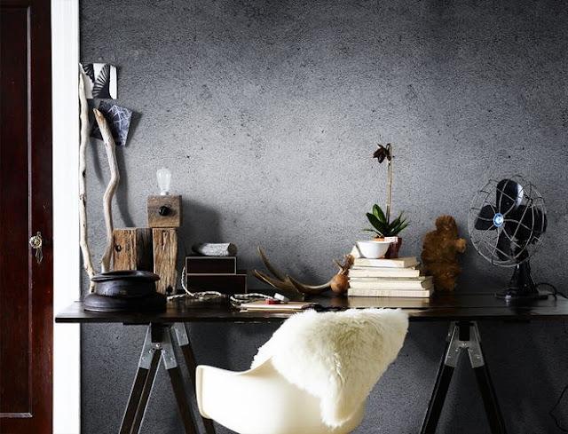 betongtapeter grå tapet fototapet betongvägg