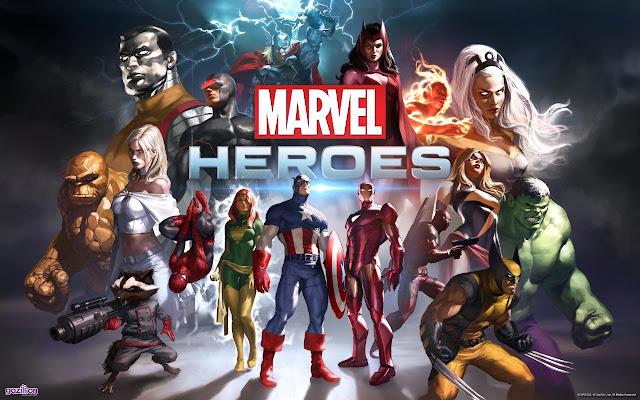 تحميل لعبة الابطال الخارقون مارفل هيروز MARVEL HEROES للكمبيوتر برابط مباشر ميديا فاير مضغوطة