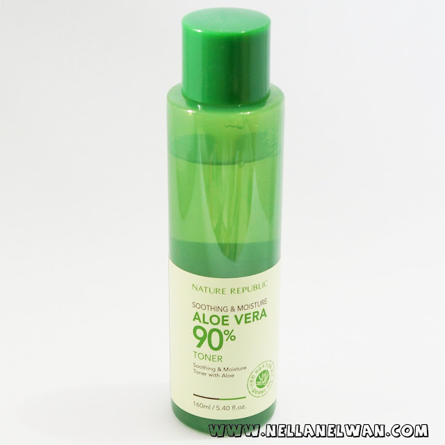 nature republic soothing moisture aloe vera toner review nellanelwan