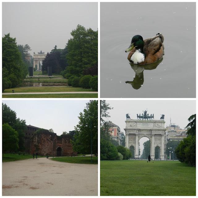 Parco Sempione e jardins do Castelo Sforzesco, Milão