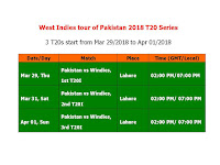 West Indies tour of Pakistan 2018 Schedule & Time Table, West Indies tour of Pakistan 2018 T20 Series, Pakistan vs. west Indies 2018 schedule, time table pak vs WI 2018, Pakistan vs west indies t20 series time table, west indies vs Pakistan 2018 schedule & time table, west indies tour to Pakistan, icc cricket, cricket time table 2018, t20, ODI, Pakistan home series schedule, match timing, GMT time, Pakistan time, place, venue, 2018 cricket calendar,