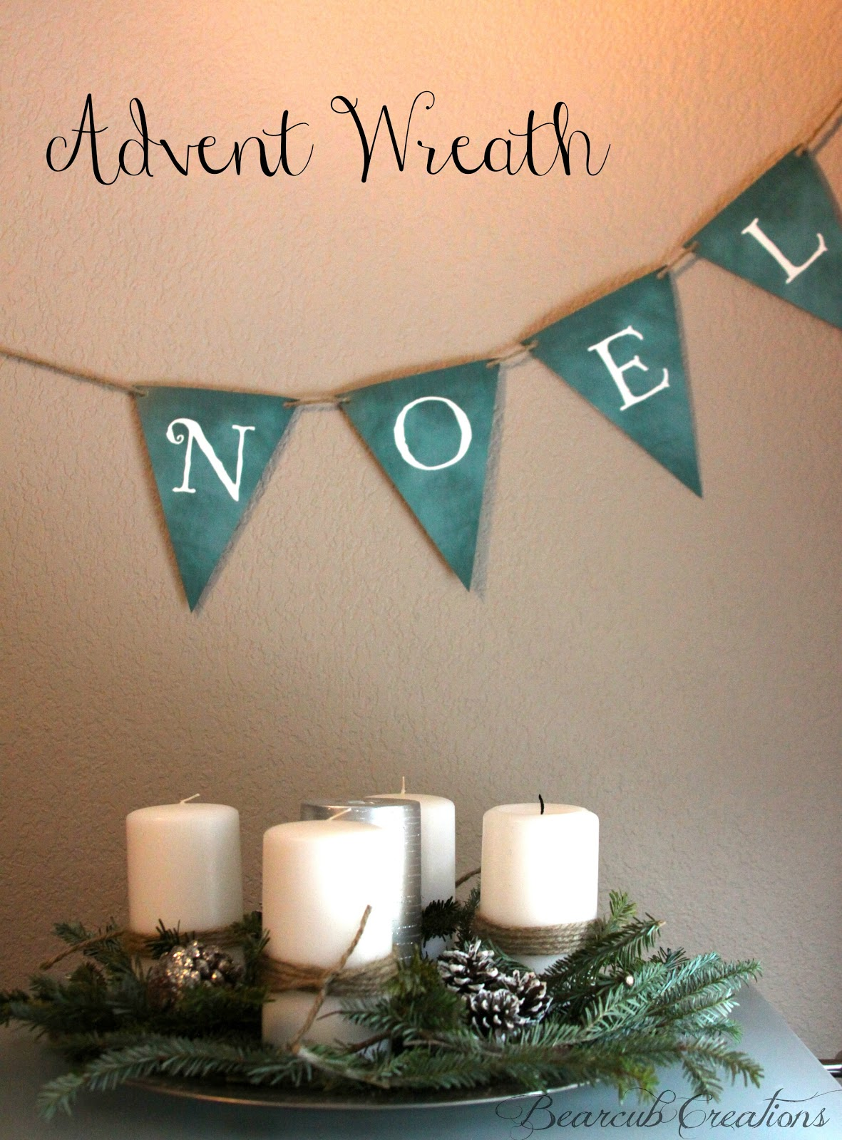 Bearcub Creations Traditions Advent Wreath And Printable
