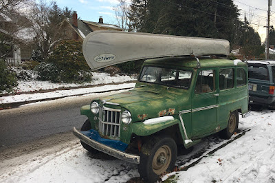 1963 Willys Jeep wagon