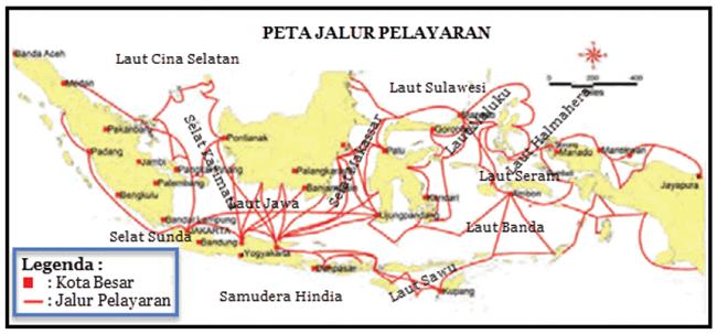 Peta Pelayaran