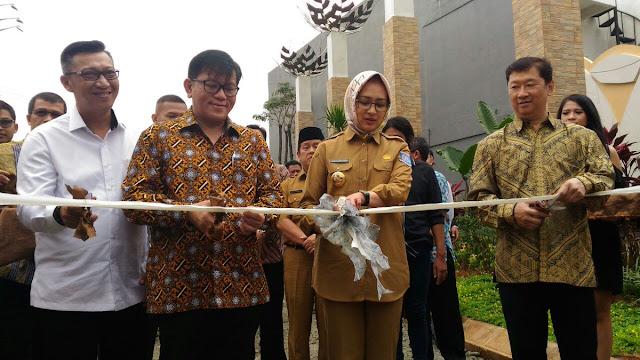 Walikota Tangerang Selatan Hadiri Peresmian Martadinata Residence