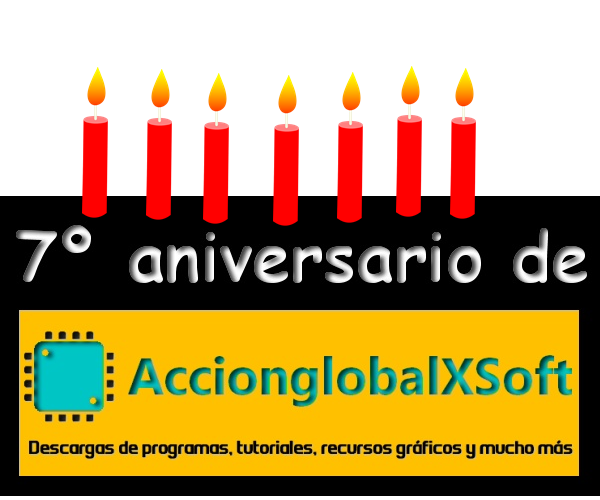 Un año más y van 7 de historia de AccionglobalXSoft