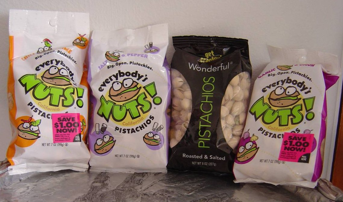 Wonderful Pistachios product assortment