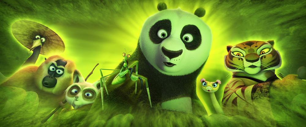 Kung Fu Panda 3 Crane