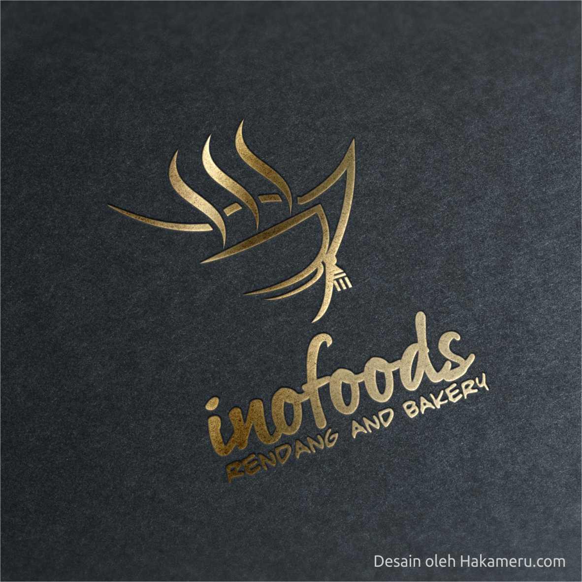 Desain logo untuk UKM UMKM IKM Bojong Gede Bogor INOFOODS - Desain oleh Jasa desain grafis online Hakameru