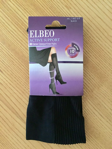 b302b43ad5832 Elbeo Active Support 60 Denier Knee Highs | Support à la Mode