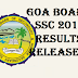 Goa board SSC 10th Result 2016 Released gbshse.gov.in