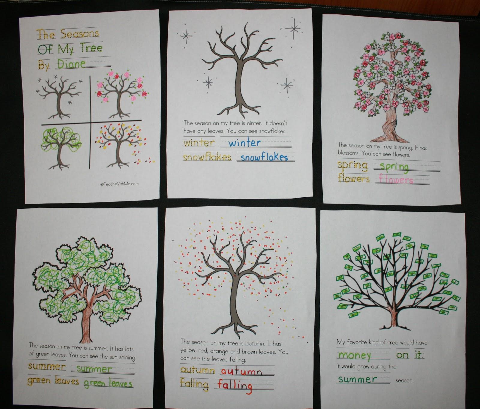The Seasons Of My Tree