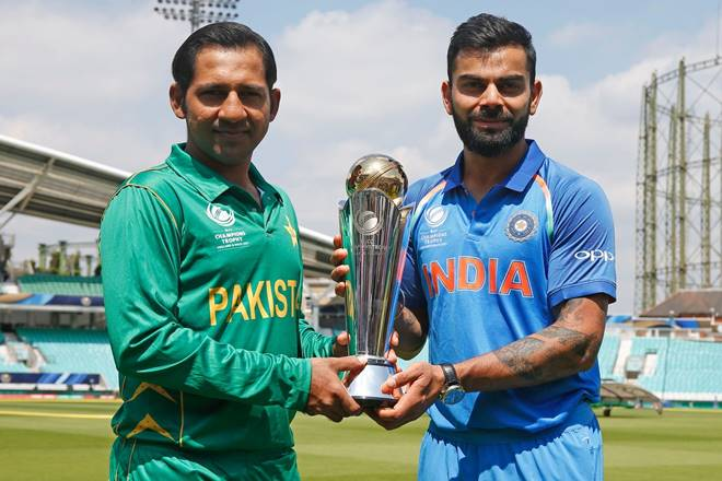 Pakistan won the match just now. Pakistan beat India by 180 runs to win ICC trophy 2017.