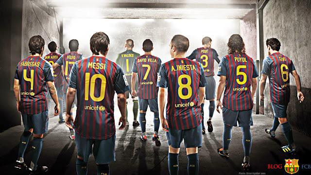 صورة لفريق برشلونة
