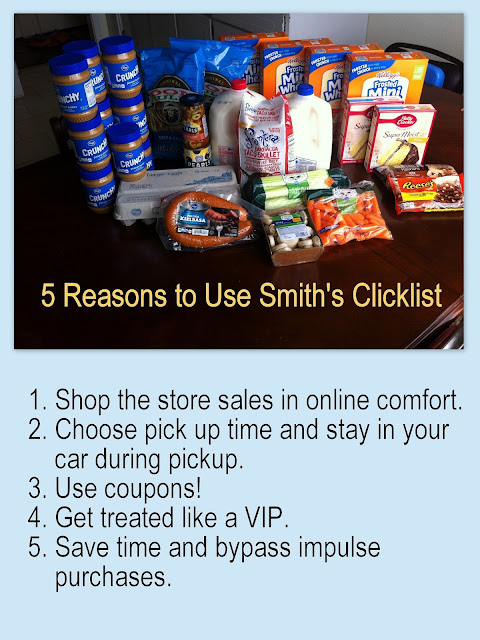 5 reasons to shop Smith's Clicklist