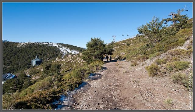 Ruta Puerto de Navacerrada - Bola del Mundo Madrid