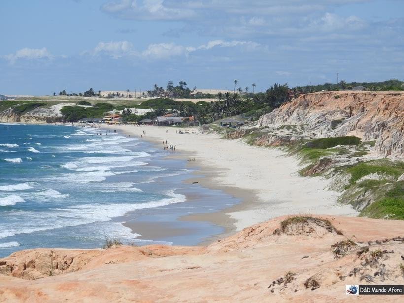 Diário de Bordo - Praia das Fontes, Ceará