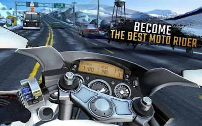 Download Moto Rider GO: Highway Traffic Mod (Infinite Money) Offline gilaandroid.com