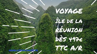 Vol Réunion promo