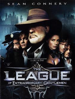 Poster Of The League of Extraordinary Gentlemen (2003) In Hindi English Dual Audio 300MB Compressed Small Size Pc Movie Free Download Only At world4free.cc