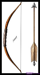 bow arrow simple archery drawing draw hunting arrows drawings cartoon weapons bows learning artemis wait started ilango games sketch tattoo