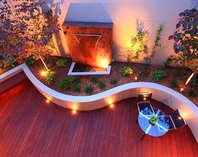 Contoh Lampu Hias Taman Minimalis