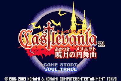 【GBA】惡魔城:曉月圓舞曲繁體中文版+攻略劇情+金手指+Rom下載!